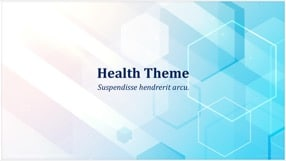 Medical Health Keynote Template 1 - Medical Healthcare
