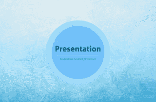 Soft Blue Keynote Template 320x210 - Soft blue