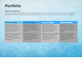 Soft Blue Keynote Template 5 1 - Soft blue