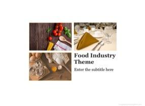 Restaurant Keynote Theme - Slide 1