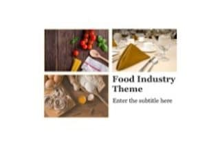 Restaurant Keynote Theme
