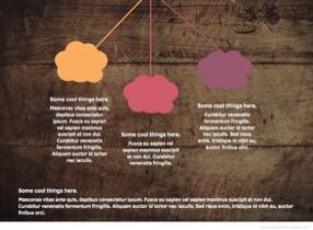 Apple Keynote Wooden Texture 4 - Wooden texture