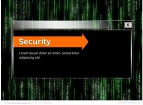 Cyber Security Keynote Theme - Slide 1