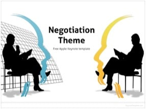 Negotiation Keynote Template 1 - Negotiation