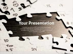 Puzzle Keynote Template 1 - Puzzle