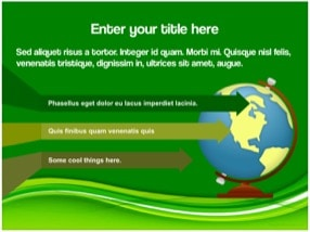 Eco Green Keynote Template 10 - Eco Green