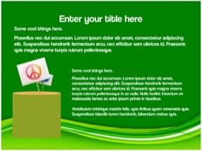 Eco Green Keynote Template 4 - Eco Green