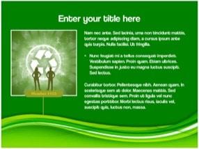 Eco Green Keynote Template 7 - Eco Green