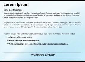 Minimal Keynote Template 5 1 - Minimal