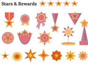Stars Rewards Keynote Shapes 1 286x210 - Stars and Rewards