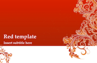 Red Invitation Keynote Template 1 320x210 - Red Invitation