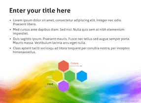 Colorful Keynote Template 2 - Colorful
