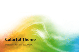 Colorful Keynote Template 320x210 - Colorful