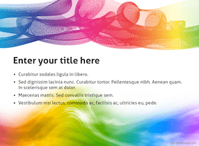 Colorful Keynote Template 4 - Colorful