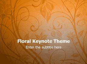 Floral Keynote Theme 1 - Floral Design