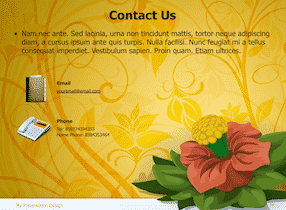 Floral Keynote Theme 10 - Floral Design