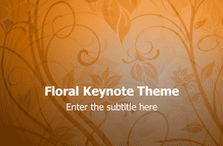 Floral Keynote Theme 320x210 - Floral Design