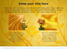 Floral Keynote Theme 4 1 - Floral Design