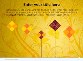 Floral Keynote Theme 5 - Floral Design