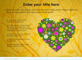 Floral Keynote Theme 7 - Floral Design