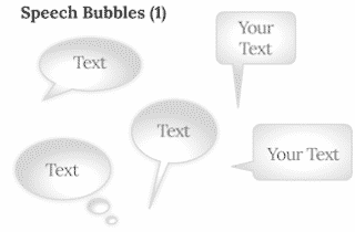 Keynote Speech Bubble 320x210 - Speech Bubbles