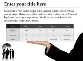Businessmen Keynote Template - Slide 4