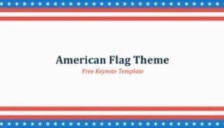 American Flag Keynote Template 320x183 - American Flag