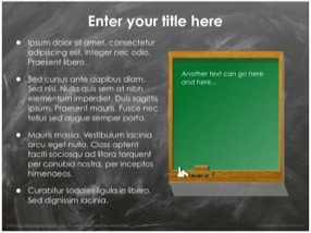 Blackboard Keynote Template 4 - Blackboard