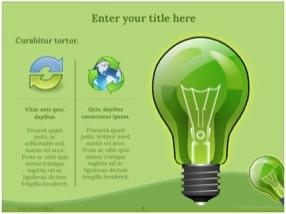 Green Energy Keynote Template 6 - Green Energy