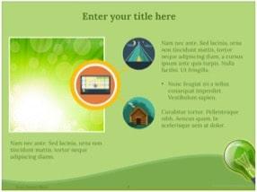 Green Energy Keynote Template 8 - Green Energy