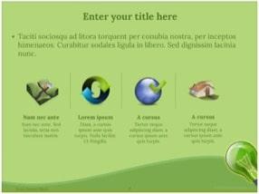 Green Energy Keynote Template 9 - Green Energy