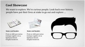 Hipster Keynote Template 5 - Hipster