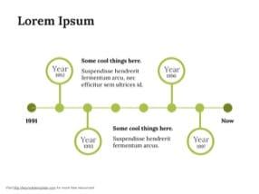 History Timeline Keynote Template 6 - History Timeline
