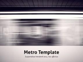 Metro Keynote Template 1 - Metro