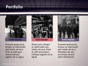 Metro Keynote Template 2 - Metro