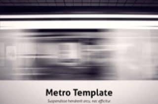 Metro Keynote Template 320x210 - Metro