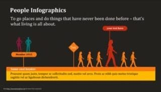 People Infographic Keynote Template 320x183 - People Infographics