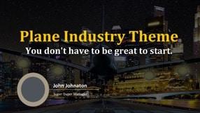 Plane Industry Keynote Template 1 - Plane Industry