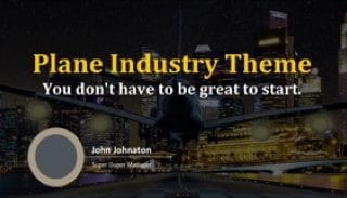 Plane Industry Keynote Template 320x183 - Plane Industry