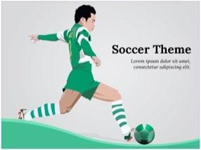 Soccer Keynote Template 1 - Soccer