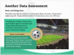 Soccer Keynote Template 4 - Soccer