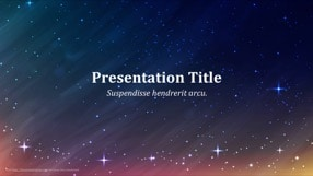 Space Keynote Template 1 - Space