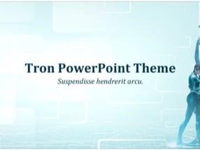 Tron Keynote Template 1 - Tron