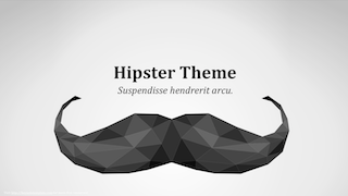 Hipster Keynote Template 320x180 - Hipster