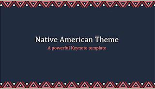 Native American Keynote Template 320x183 - Native American