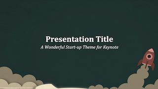 Start Up Keynote Template 320x181 - Start Up