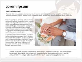 Wedding Bride Keynote Template 4 - Bride