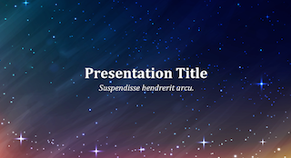 Space Keynote Template 320x174 - Space