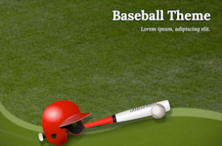 Baseball Keynote Template 320x210 - Baseball