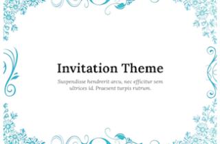 Invitation Keynote Template 320x210 - Invitation